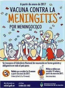 vacuna meningococo