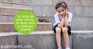 falta-amor a los niños los afecta